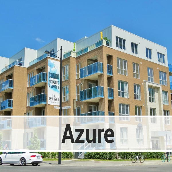 Information on Condos for sale and for rent in the Azur building ...