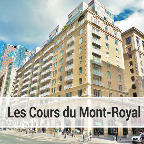 Information on Condos for sale and for rent in the Cours du Mont ...